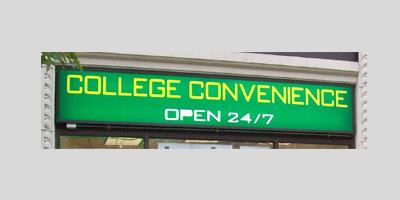 College Convenience